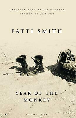 Year Of The Monkey By Patti Smith New Hardcover Book Arts Music Styles Gift UK
