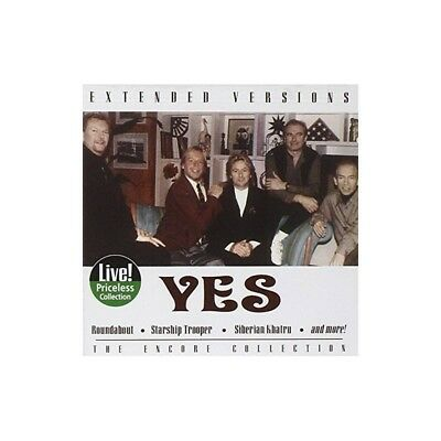 Yes : Live: Extended Versions (2004) CD ALBUM NEW SEALED FREEPOST