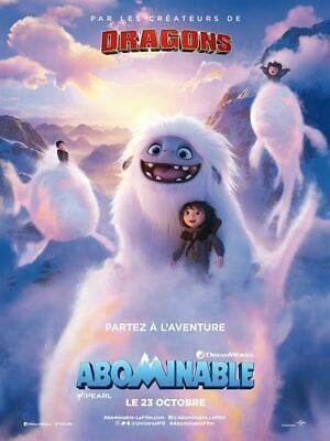 Abominable - Affiche cinema 40X60 - 120x160 Movie Poster