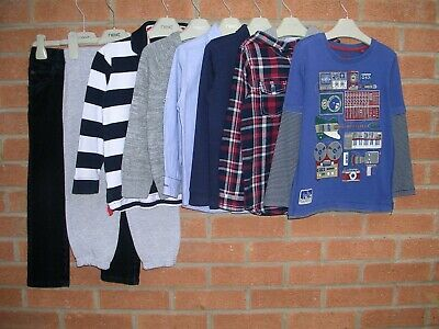 NEXT OUTFIT GEORGE TU etc Boys Bundle T-Shirts Tops Jumpers Jeans Age 4-5 110cm