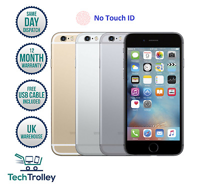 Apple iPhone 6 16GB 64GB 128GB Rose Gold Silver Grey Gold 12 Month Warranty