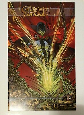 Spawn #150 Todd McFarlane Variant Cover! Scarce! Front + Back Images!