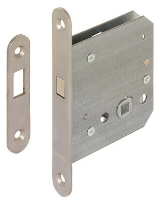 Hafele 911.26.340 Mortise Lock Stainless Steel 55/20mm