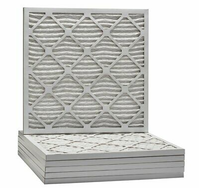 AF MERV 8 Pleated AC Furnace Air Filter.  (16 x 25 x 1), 6pk