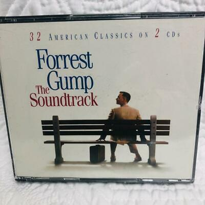 Forrest Gump The Soundtrack 2 CDs 32 American Classic 1994 Sony Music