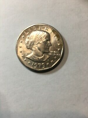 Uncirculated 1979-S Type II Susan B Anthony Clad Dollar