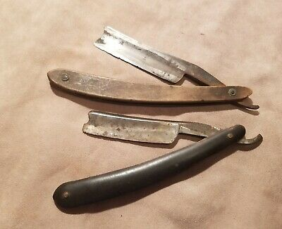 vintage pair of Wade and butcher razors