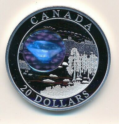 Canada  20 Dollars 2005 Natural Wonders Diamonds  - Proof .999 Fine Silver