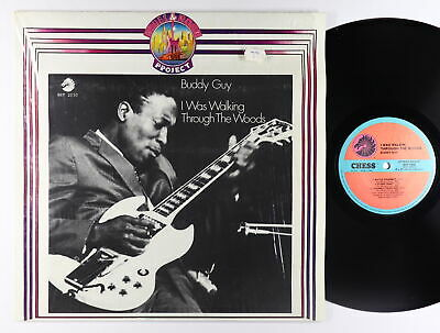 Buddy Guy - I Was Walking Through The Woods LP - Chess Italy VG+ Shrink