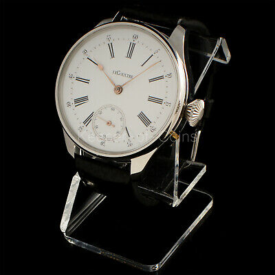 IMMACULATE LeCOULTRE WATCH MEN'S 16 SIZE 17 JEWELS BEST QUALITY SWISS MOVEMENT