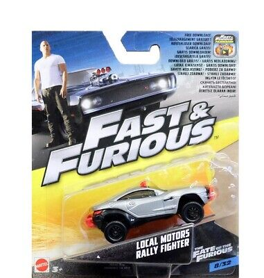 Fast  Furious : Pour Local Motors Rally Fighter - Vehicule miniature Gris