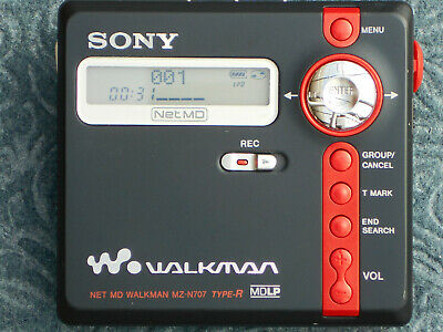 Sony Walkman Net MD MZ-N707