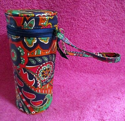 Vera Bradley Venetian Paisley Baby Bottle Caddy Wristlet Bag