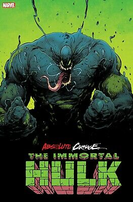 ABSOLUTE CARNAGE IMMORTAL HULK 1 FILIPE ANDRADE 2nd PRINT VARIANT PRE-SALE 11/6