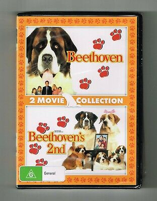Beethoven / Beethoven's 2nd Dvd (2-Movie Collection) Brand New & Sealed