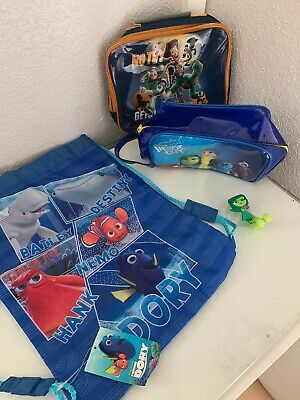Disney Job Lot Bundle Bags Finding Dory/toy Story/inside Out New Unwanted Kids