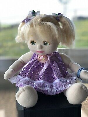 My Child Doll Blond Ponies WAIF US China