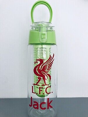 ** Personalised Liverpool Fc Water Bottle - Variety Of Colours ** ⚽️💦