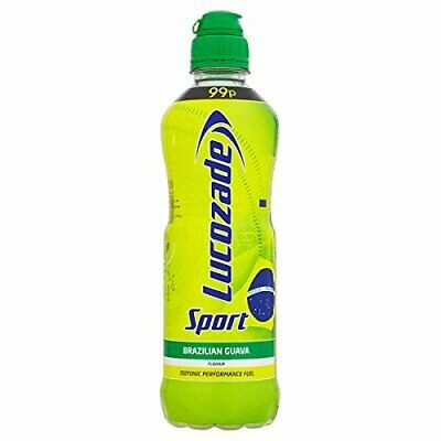 Lucozade Sport Performance Fuel isotonic Brazilian Guava 500 ml x12