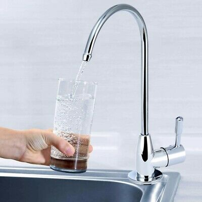 1/4'' Chrome Drinking Water Filter Faucet Reverse Osmosis Sink Tap Kitchen Tool