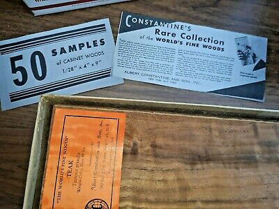 Constantine's Rare Collection of the Worlds Fine Woods Veneer gift art craft