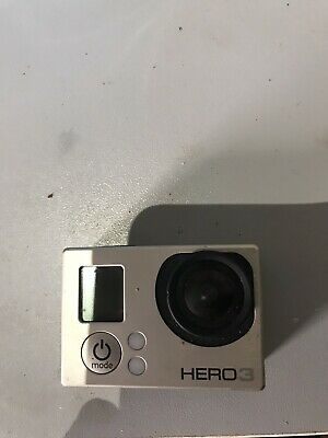 GoPro Hero3+ Silver Edition Camcorder With Waterproof Case And Helmet Strap