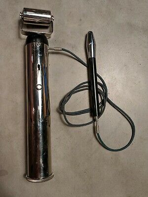 "1920s Electreat Roller + Wand ""Relieves Pain"" Quack Electric Medical Device"