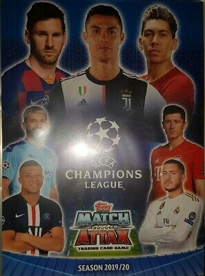 Match Attax Champions League 19 20 limited edition LE15 Sane Club Hero   select