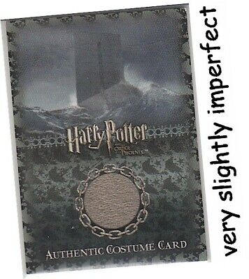 Harry Potter Order Of The Phoenix - Ci3 Death Eaters Costume Card #058 IMPERFECT