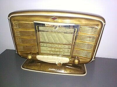 Radio TSF  SNR excelsior 52 couleur bronze