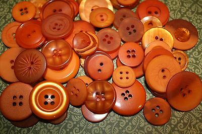 Hand Dyed Buttons in Lots of 50 Teal,Pink,Yellow,Blue,Green-Sew Craft Scrapbook