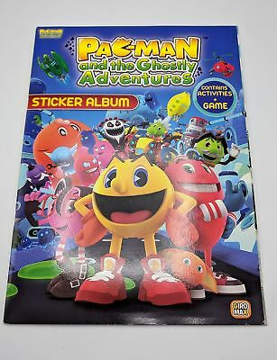Pac Man and the Ghostly Adventures Album Set Giromax Sticker Set