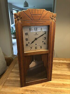Antique vintage french Vedette Wall Clock