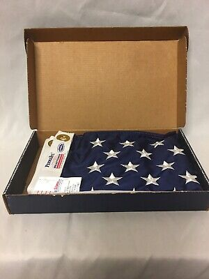 Valley Forge American Flag 2ft x 3ft sewn nylon Commercial Grade New