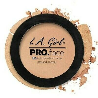 L.A. Girl Pro Face High Defintion Matte Pressed Powder GPP606 BUFF New in Box