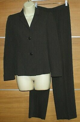 MARKS and  SPENCER brown mix suit trousers size 8 medium