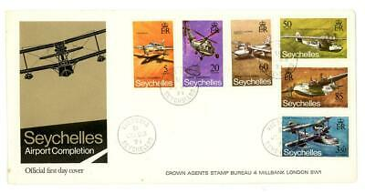 1971 Seychelles Airport Completion First Day Cover