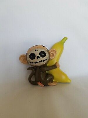 Furrybones Munky the Monkey Figurine Skull in Costume Collection 2009!
