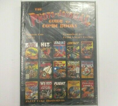 PHOTO-JOURNAL GUIDE TO COMIC BOOKS #1 HC Hard Cover Book Gerber