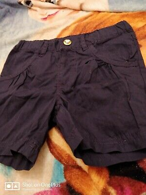 Lovely Girls H&M navy blue Fashion Shorts Age 18-24 mths