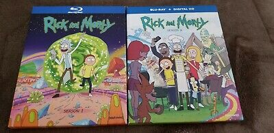 Rick and Morty: The Complete First & Second Seasons 1&2 (Blu-ray Disc)