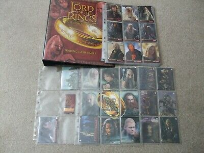Rare/hard to find Lord of the Rings Two Towers UK exclusive trading card binder