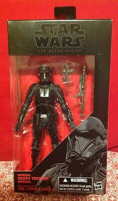 "Hasbro Star Wars The Black Series #25 Imperial Death Trooper 6"" Action Figure"