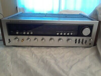 Vintage Kenwood AM-FM Stereo Tuner Amplifier Receiver Model KR-9400