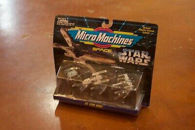 X-Wing Star Wars Galoob Action Fleet Micro Machines 3-Pack 1997 set III