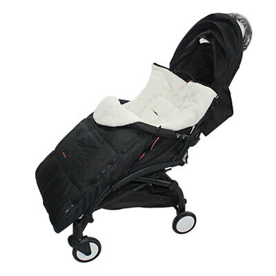 Baby Stroller Sleeping Bag Windproof Cotton Kids Buggy Pushchair Foot Muff Cover