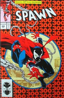 Spawn 300 Amazing Spider-Man 300 Homage Cover J