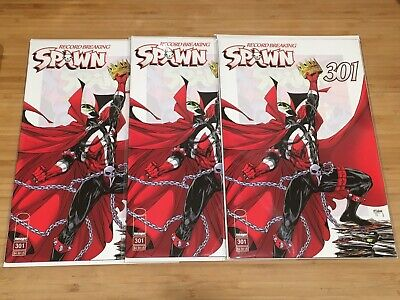 Spawn #301, Cover A, McFarlane Image Comic 1st Print 2019, 3 Copies Lot, NM