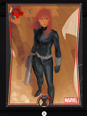 Topps MARVEL COLLECT DIGITAL Card Trader SHOWCASE BLACK WIDOW #7