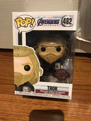 **IN HAND** Special Edition Funko Pop! End Game Avengers Thor with Weapon #482